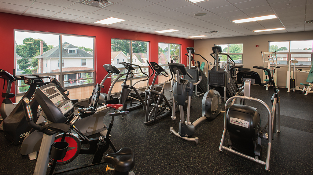 Hershey Volunteer Fire Company - Exercise room