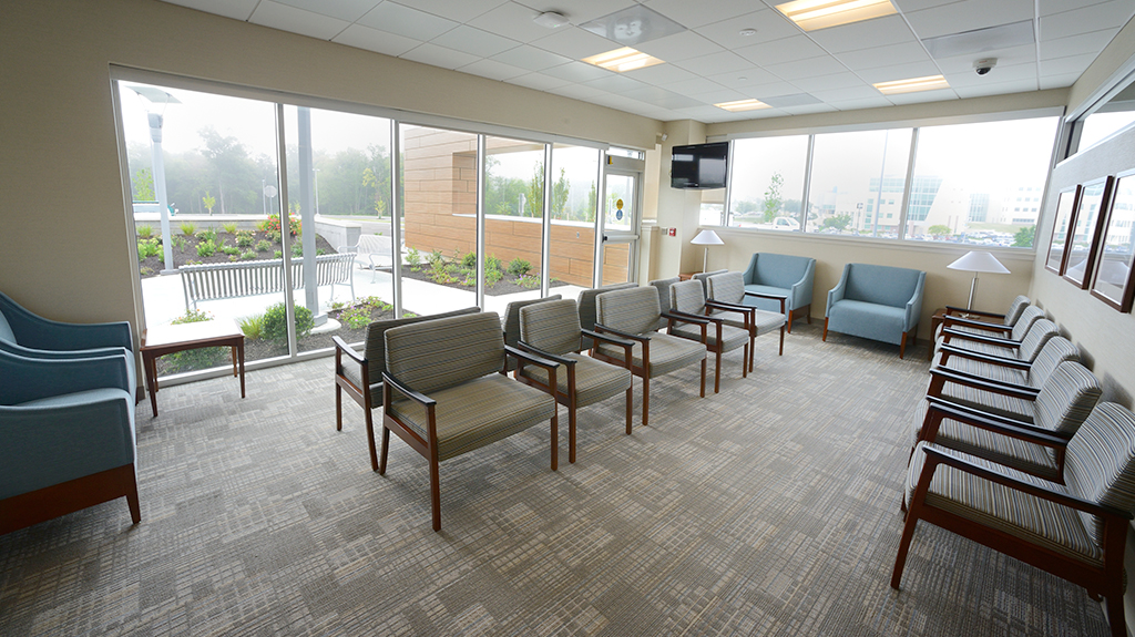 Ortenzio Cancer Center waiting room