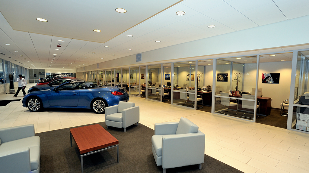 Infinity of Mechanicsburg showroom