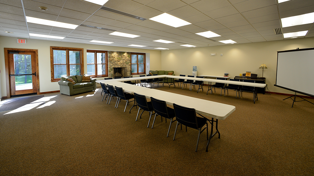 Mount Asbury Lodge meeting room